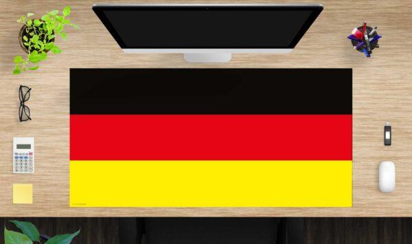Schreibtischunterlage Flagge Deutschland aus Vinyl