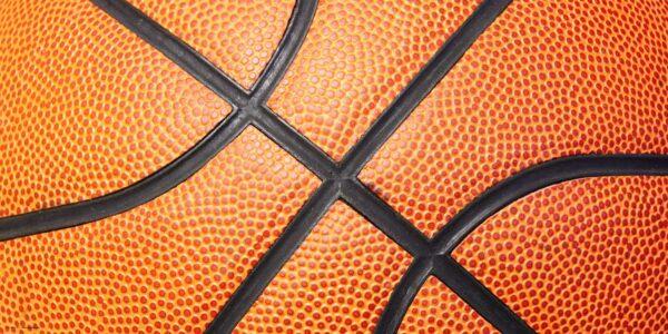 Schreibtischunterlage Basketball aus Vinyl