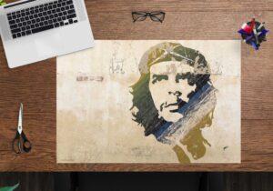 Schreibtischunterlage Che Guevara - aus Vinyl