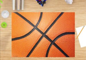 Schreibtischunterlage - Basketball - aus Vinyl