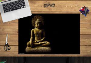 Schreibtischunterlage - Buddha - aus Vinyl
